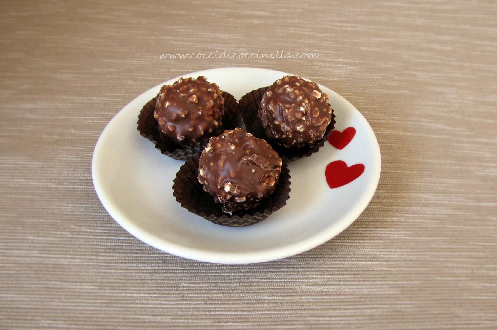 Ferrero rocher fatti in casa - Ricette di cucina Il Cuore ...